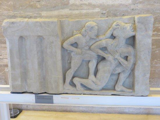 Museo Archeologico Nazionale di Paestum : Metope