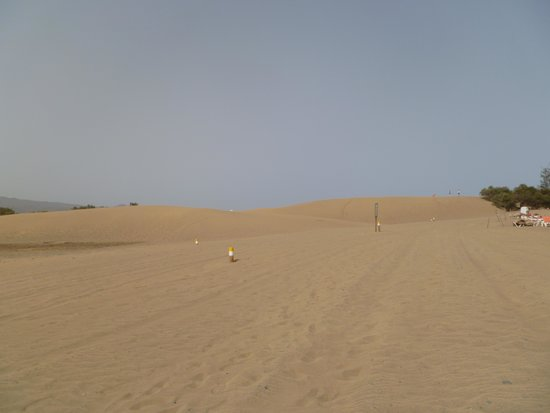 Playa de Maspalomas: endless and beautiful
