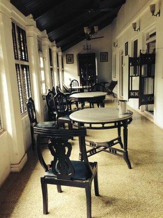 Radha Cottage: nice area outside room ............ beautiful
