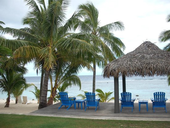 Beach front of Sunset resort