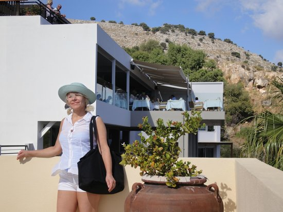 Lindos Mare Hotel: Lindos Mare new outside look