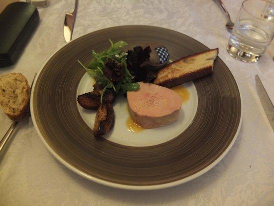 Restaurant Akashi : フォワグラ