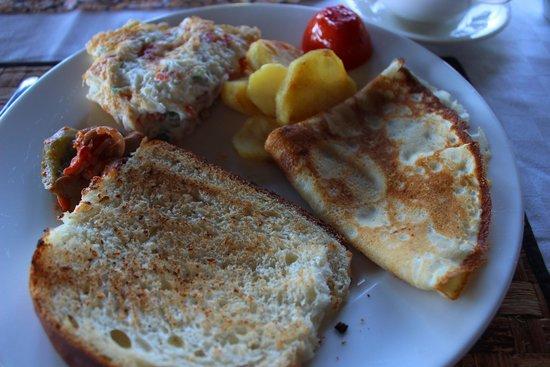 Ngorongoro Wildcamp: Delicious Breakfast