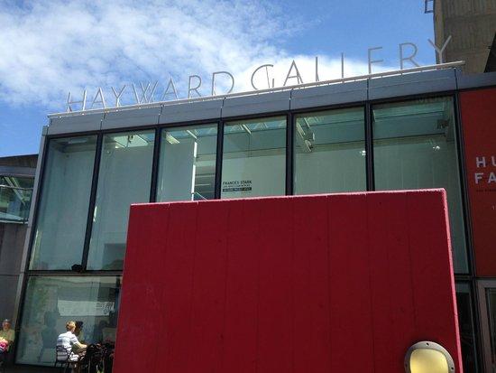 Hayward Gallery: Gallery Signage