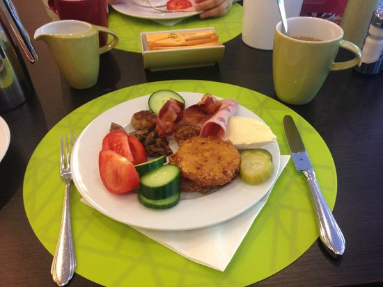 Leonardo Royal Hotel Baden-Baden : завтрак