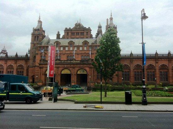 Kelvingrove Art Gallery and Museum: Museum front