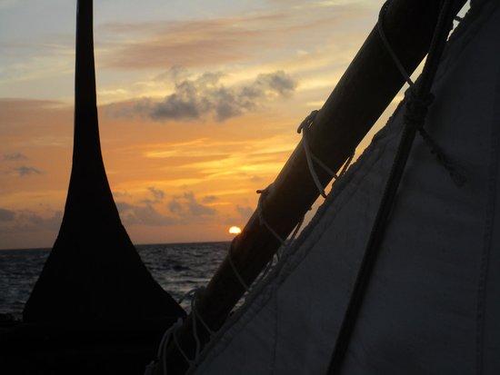 Baros Maldives: Sunset auf der Nooma