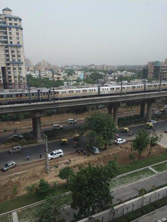 Vivanta by Taj - Gurgaon, NCR: View from the room