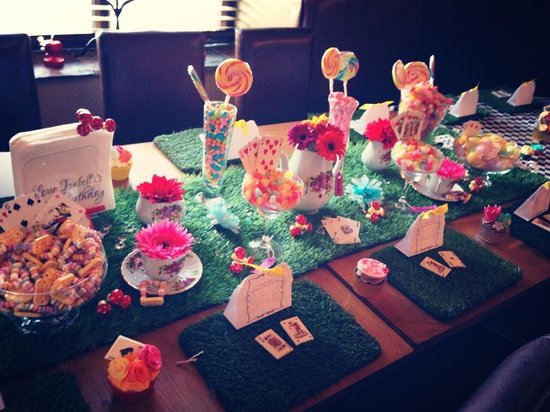 The Waterside Restaurant Bar & Terrace: Mad Hatter tea party...