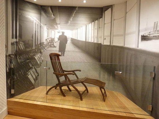 SeaCity Museum: Titanic Deck Chair