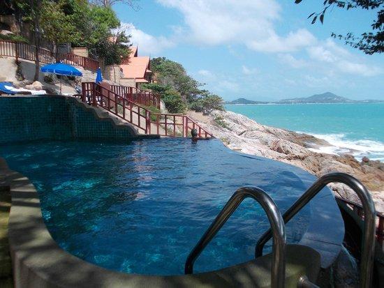 Baan Hin Sai Resort & Spa: Piscine du bas de l'hôtel