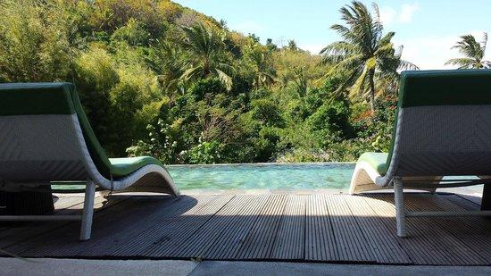 Kebun Villas & Resort : infinity view