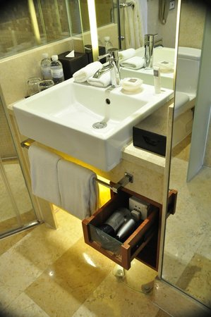 Swissotel Grand Shanghai: good bathroom amenities