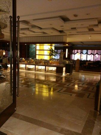 New Century Hotel: Buffet room