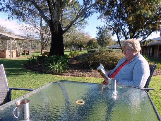 """Cadell on the Murray: """"A lovely spot to relax by the river"""""""
