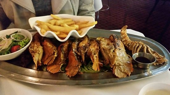 Ashmore Seafood and Steakhouse : If you like bugs