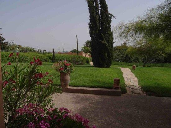 Riad Dar Maktoub : Le jardin