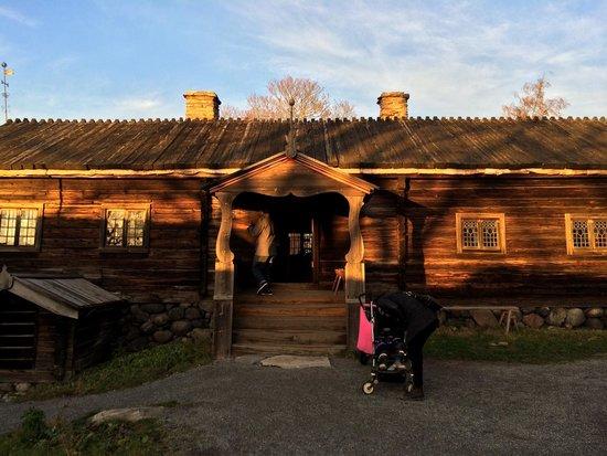 Museo al aire libre Skansen: Casa antica