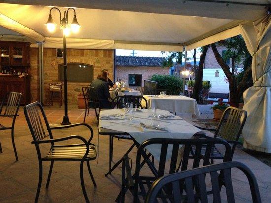 Ristorante Villa Nottola : Il tramonto..!!