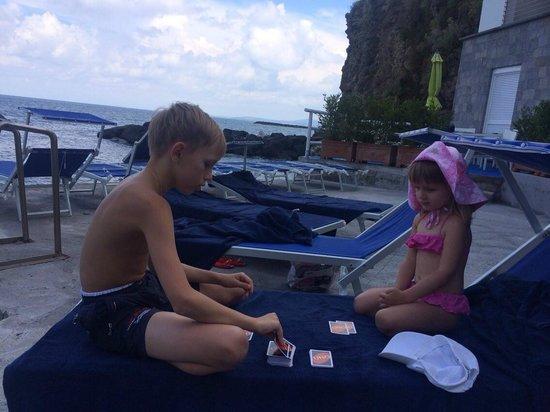 Ischia Blu Resort: our beach