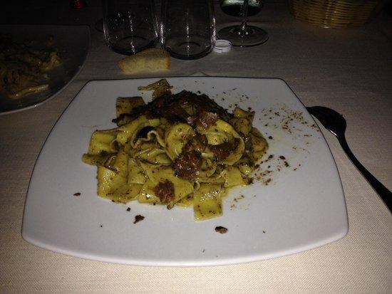 Ristorante Villa Nottola : Pappardelle al tartufo..!!