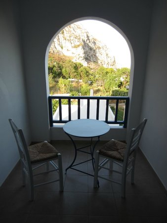 Amaranto Rooms: View from the balcony