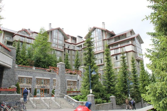 The Westin Resort & Spa, Whistler: another view of the hotel