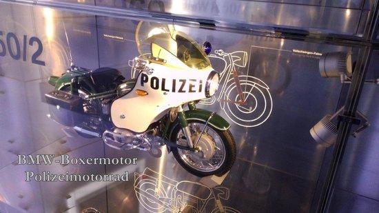BMW-Museum: PolizeiMotorrad