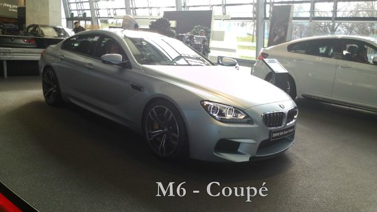 BMW-Museum: M6 Front