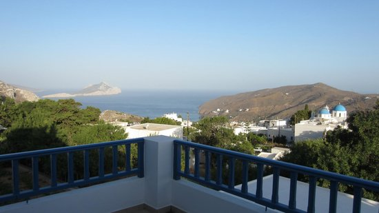 Amaranto Rooms : View from the second balcony