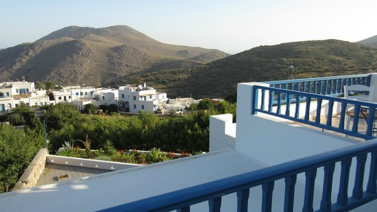 Amaranto Rooms: View from the second balcony