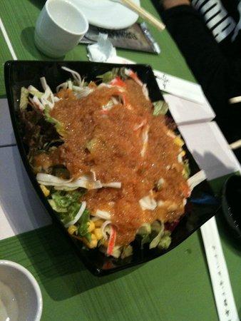 furin kazan salad