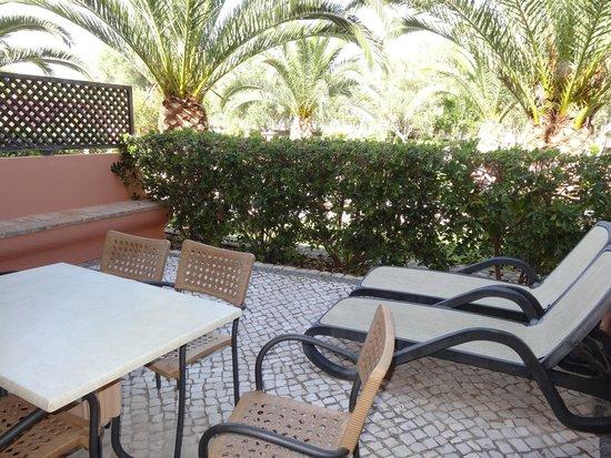 Jardim da Meia Praia: terrasse