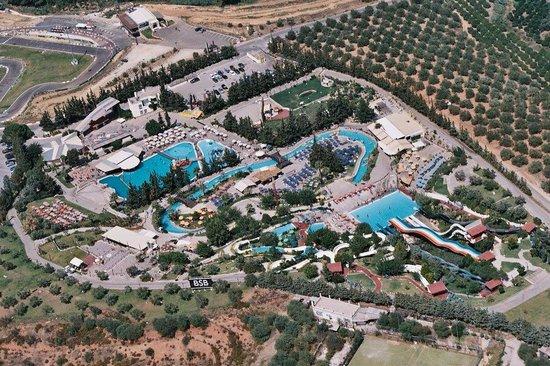 Limnoupolis Water Park : Από ψηλά!!!