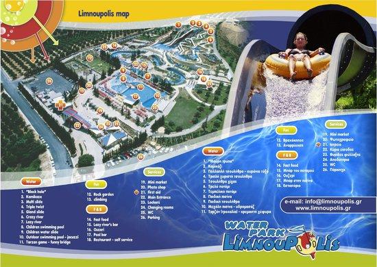 Limnoupolis Water Park: Αναλυτική