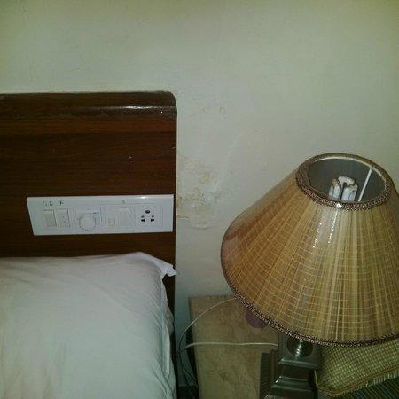 Ramsukh Resorts & Spa: hard backrest