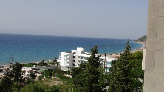 Sheraton Rhodes Resort: View from room 937
