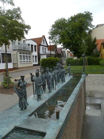 Warnemunde Beach: one of the interesting streets