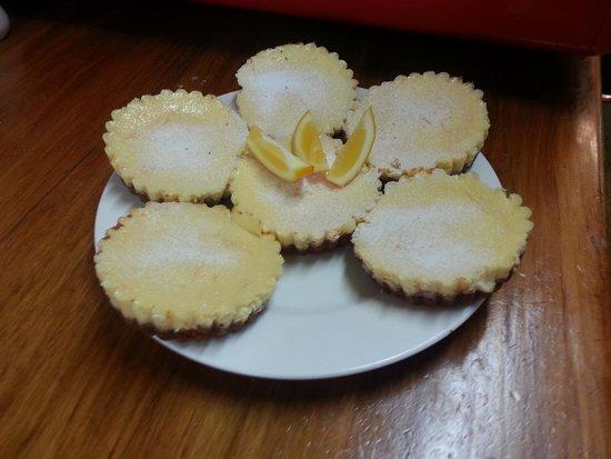 Coffee Plus cafe: super popular lemon tarts