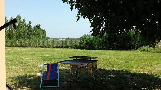 Il Boschetto: Parco con possibilità di fare barbecue con varie tavoli