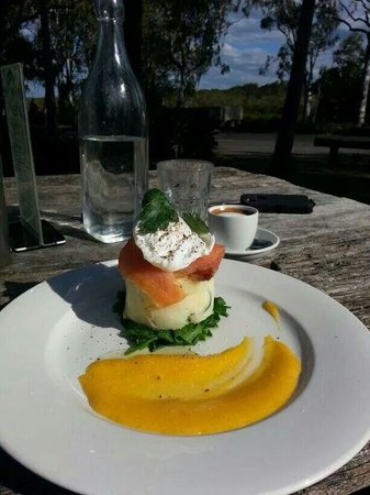 Yum Yum Tree Cafe: Smoked Salmon Potato Charlotte