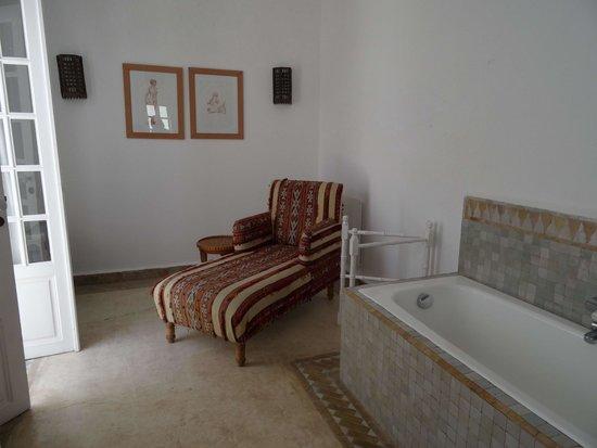 Villa Maroc: salle de bains