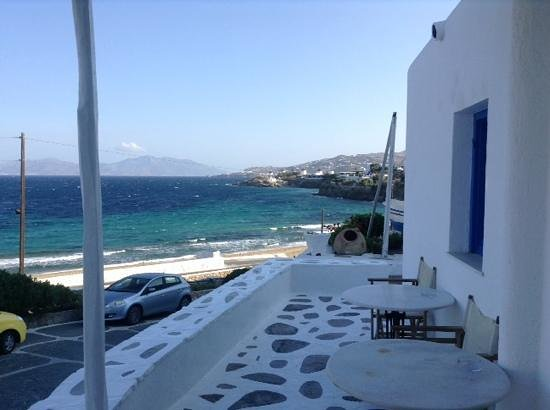 Hotel Mykonos Beach: view from hotel
