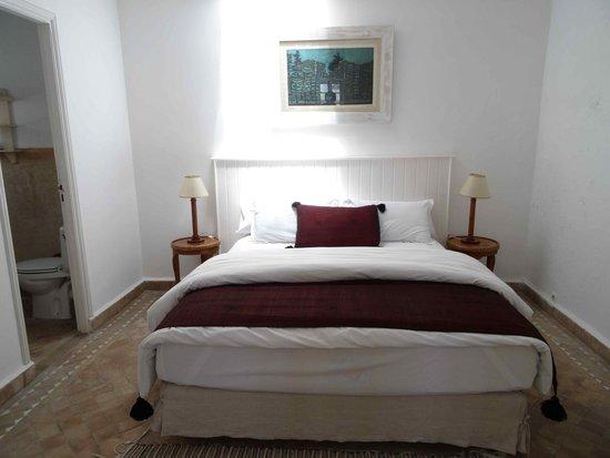 Villa Maroc: la chambre