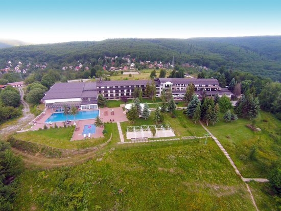Hotel Radika : Sky view front