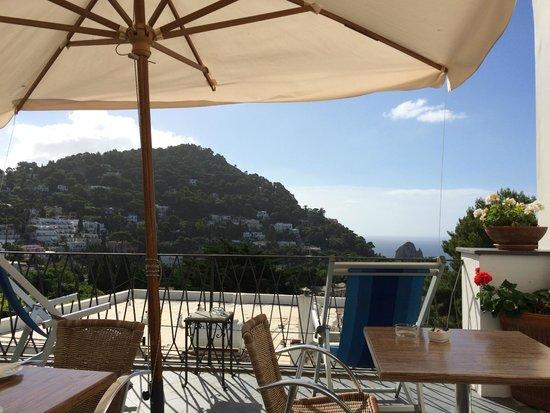 Hotel La Tosca : Terrace Area