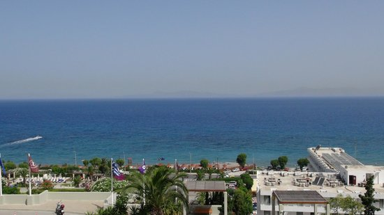 Sheraton Rhodes Resort: View from the room