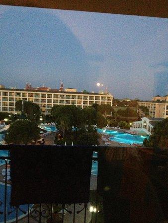 Venezia Palace Deluxe Resort Hotel: жили на последнем этаже