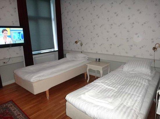 Stadshotellet : Bedroom