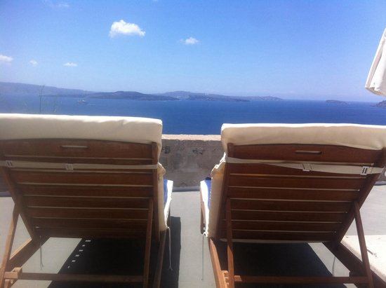 Nostos Apartments : Amazing view